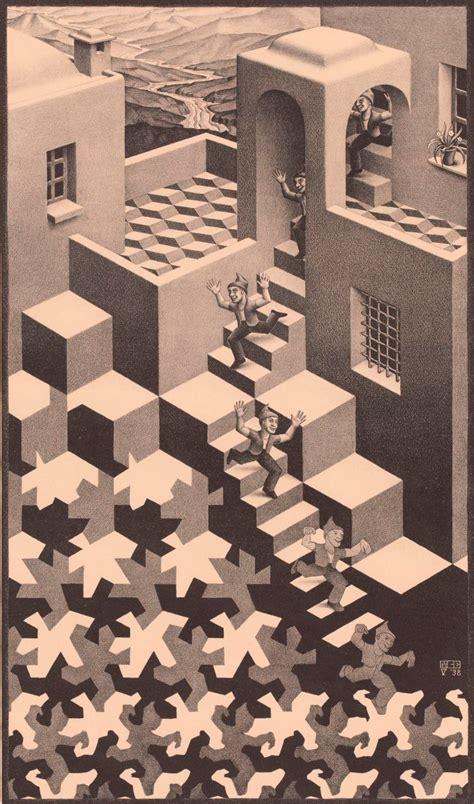 ilusiones opticas verne 14 obras de escher que nunca nos cansamos de ver verne