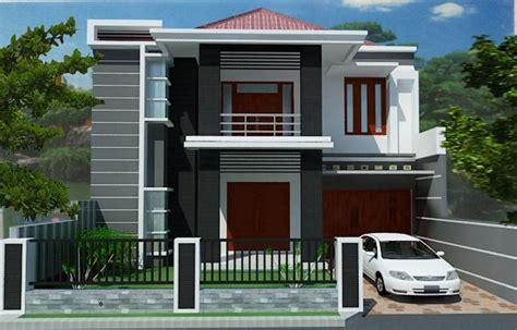 contoh gambar rumah minimalis  lantai gambar desain