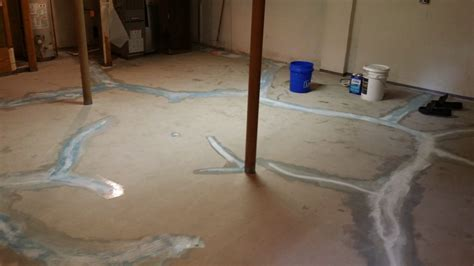 how to waterproof basement floor basement waterproofing flooring solution columbus ohio