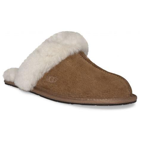 scuffette slippers ugg australia scuffette ii chestnut slippers footwear