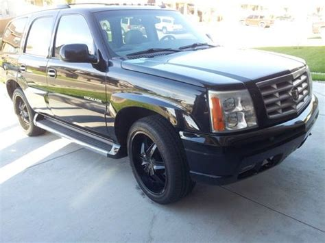 find used 2006 black cadillac escalade on 22 quot rims in
