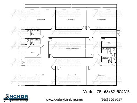 Modular Classroom Floor Plans Preschool Building Plans And Designs