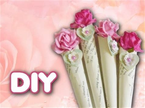 How To Make A Bouquet Of Flowers Out Of Paper - graphic45 portrait of a scrapbook mini album