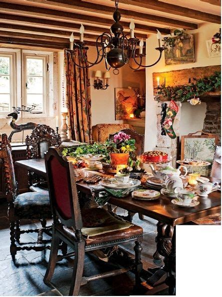 english country bedroom cottage dining rooms house