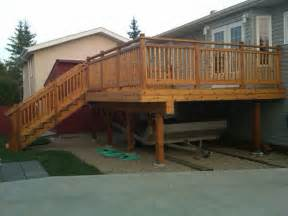 deck post height above railing deck design and ideas
