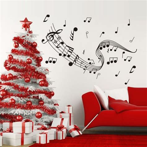 Bedroom Wallpaper Notes Removable Musical Notes Wall Sticker Decal Wallpaper