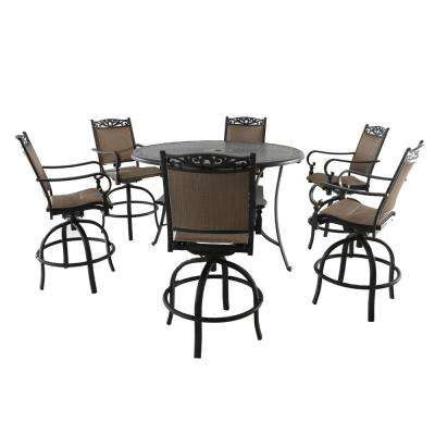 Patio Furniture Bar Height Sets. cast aluminum outdoor bar