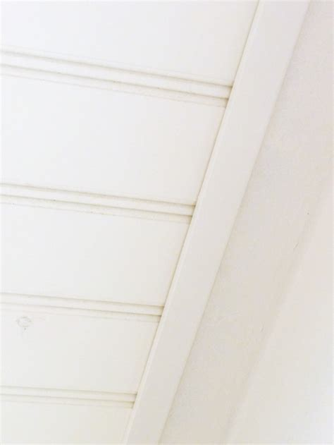 Beadboard Ceiling Trim by Albert Diy Beadboard Ceiling To Replace A Basement Drop Ceiling
