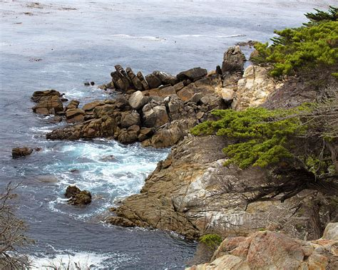 17 mile drive pebble beach carmel by the sea california pebble beach california 17 mile drive photograph by tn