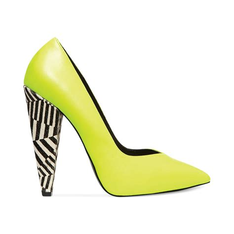 Keshia Dress Yellow black platform sandals yellow steve madden excit