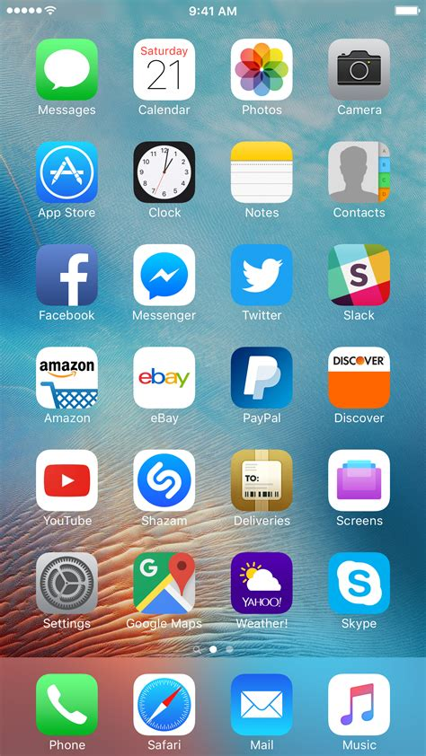 best layout for iphone home screen image gallery homescreen