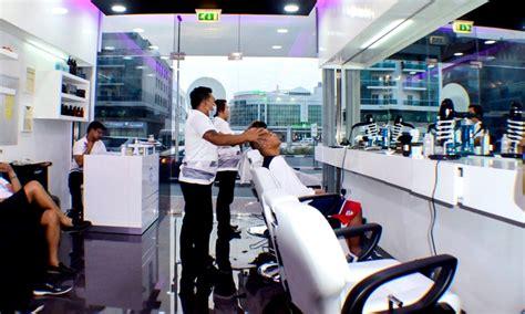 haircut gents salon dubai marina men s cut wash and nail care matinee gents salon groupon