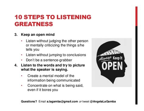 how to a to listen how to listen effectively