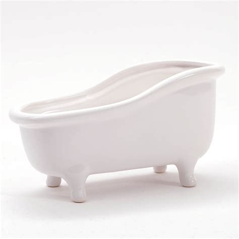 Home Decor Bath Tub White Ceramic Soap Dish Fruit