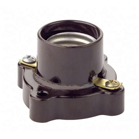 Types Of Kitchen Flooring Ideas leviton pony cleat style lamp holder brown 9063 the