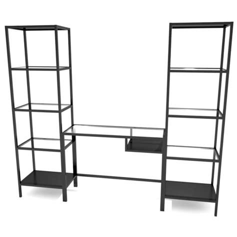 ikea vittsjo shelving unit 3d model ikea laptop table shelving unit
