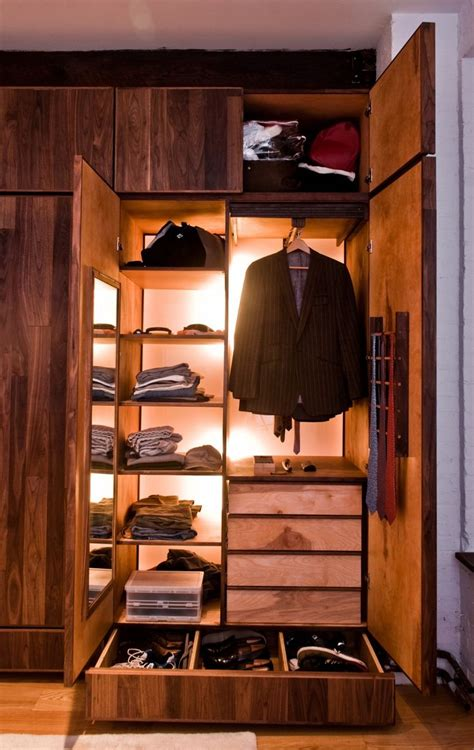 mens closet man s closet made from reclaimed good by green furniture