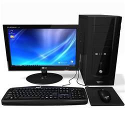 computer desk tops computer black desktop pc 3d max