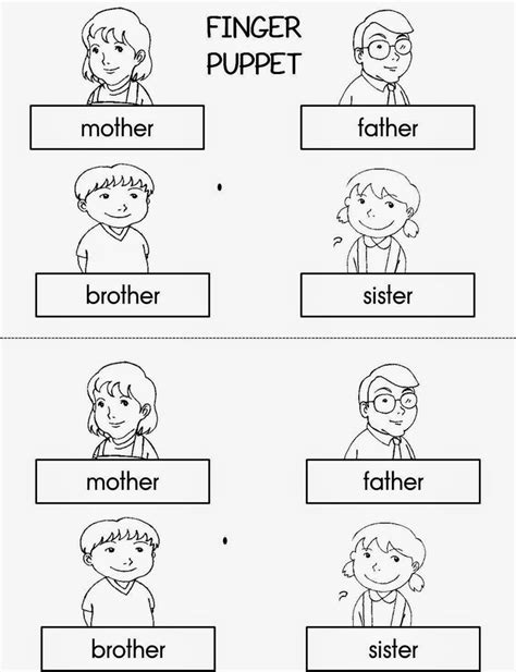 family cut out templates 115 best images about family on