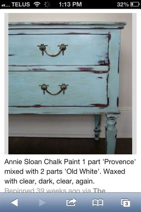 chalk paint provence provence mixed with white chalk paint 174 chalk paint