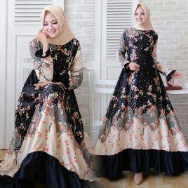 Baju Muslim Dila baju muslim terbaru 2018 desain modern bajubiz
