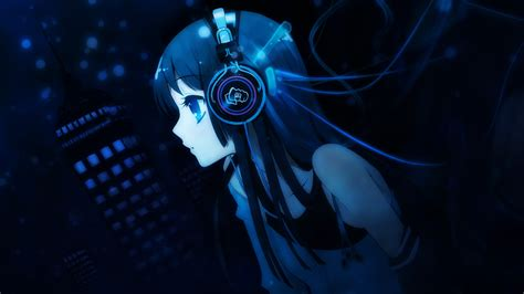 anime music girl wallpaper anime manga wallpapers full hd download