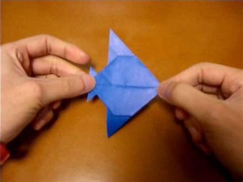 Angelfish Origami - origami angelfish