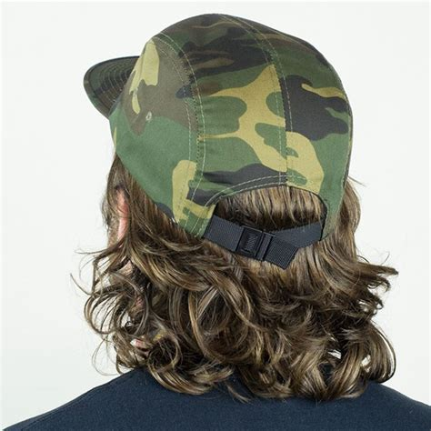 thrasher 5 panel hat camo in stock at the boardr