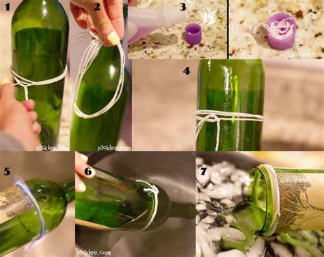como cortar y decorar botellas de vidrio reciclaje manualidades hechas con botellas de vidrio