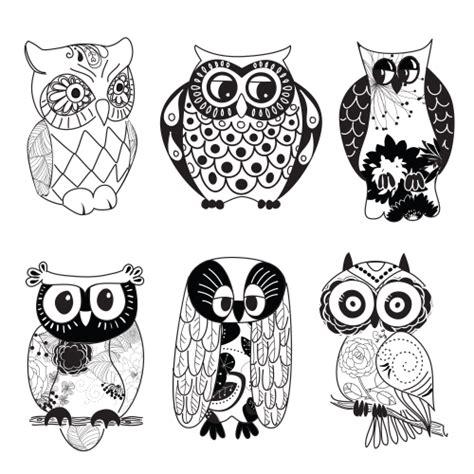 printable owl drawings owl printable clipart black and white