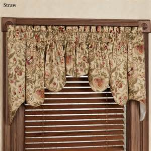 Waverly Valances And Curtains Regency Floral Duchess Swag Valance Pair By Waverly