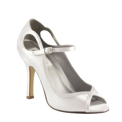 white satin high heels white womens bridal satin dyeable high heels sandals