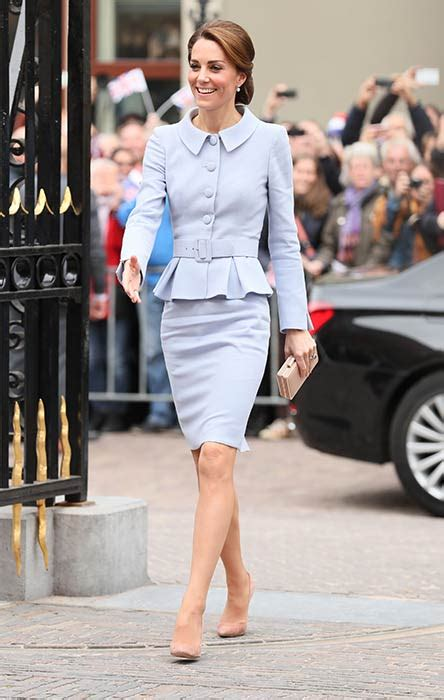 Kate Middleton Is Sophisticated In A Catherine Walker