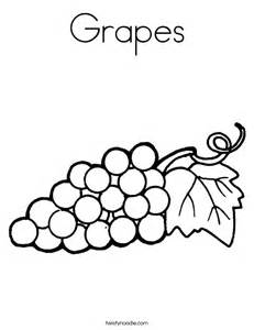 grapes coloring page grapes coloring page twisty noodle