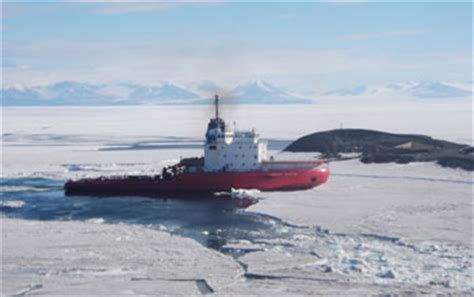 sinking boat icebreaker nsf charters icebreaker to support u s research stations