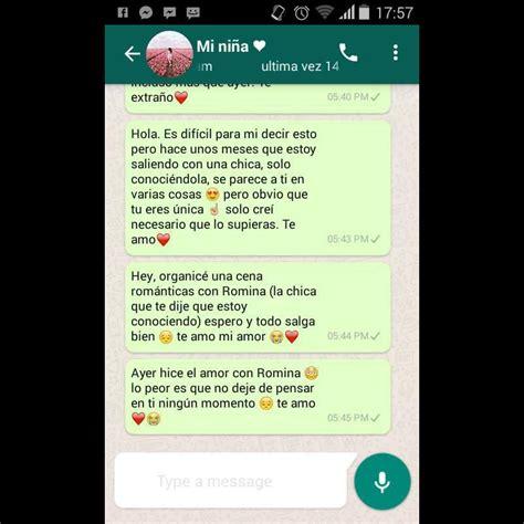 cadenas de amor para mi novio chats de amor de whatsapp para enamorar para mi novio y