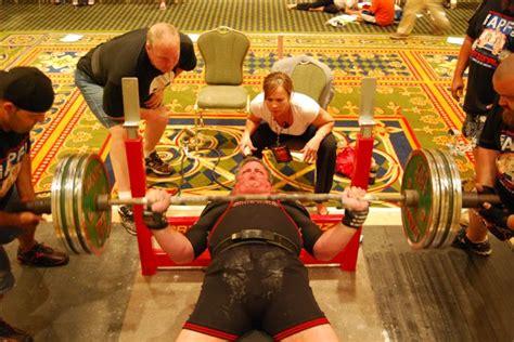 masters bench press records smolinski sets apf wpc masters 55 59 bench press record
