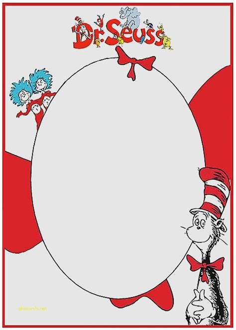 dr seuss post card templates baby shower invitation inspirational free printable baby
