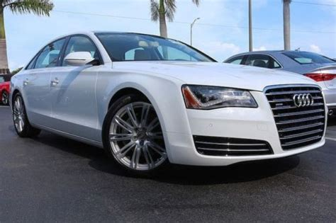 Audi A8 Premium Package by Buy Used 14 A8 L Certified Pano Roof Premium Package