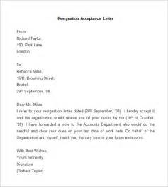 Letter To Accept Resignation by Resignation Letter Template 25 Free Word Pdf Documents Free Premium Templates