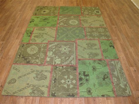 5 x 7 2 quot turkish patchwork area rug nyc rugs