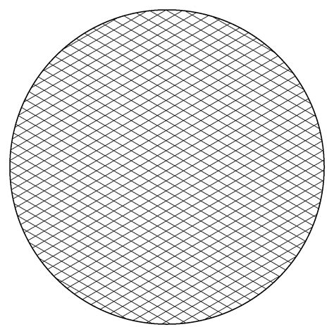 printable paper with circles free isometric graph paper to print