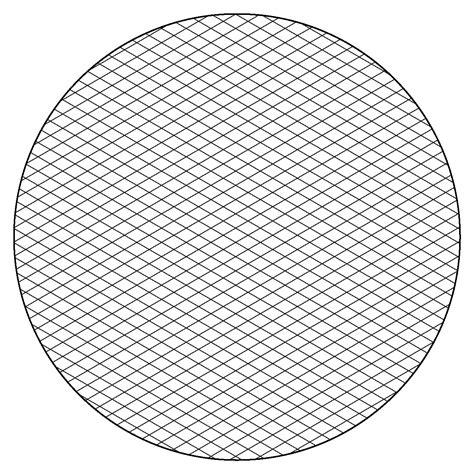 printable graph paper circle free isometric graph paper to print