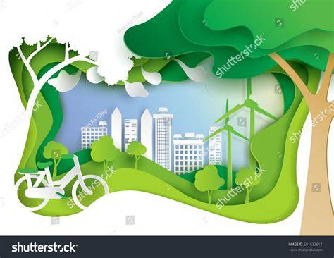 design environment nature nature landscape eco friendly conceptpaper carve stock