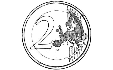 euro coloring page euro bill free colouring pages
