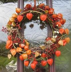 physalis dekoration lionblume physalis herbstdeko nicht wegzudenken