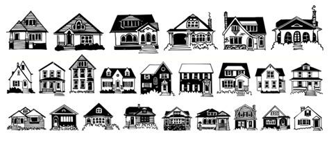 doodlebug house on house doodles font by outside the line font bros