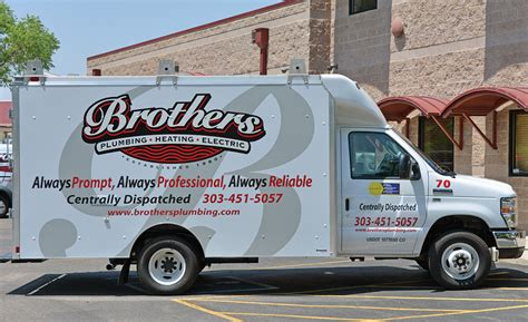 Heating Plumbing Monthly by Truck Of The Month Brothers Plumbing Heating Electric