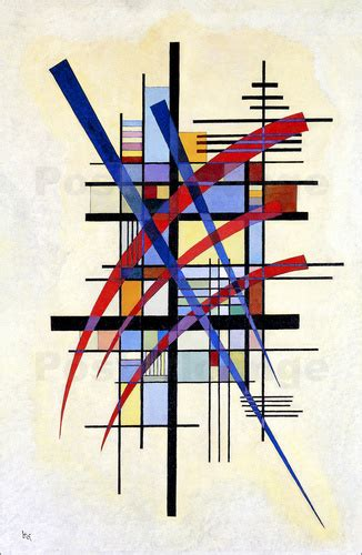 Bedroom Art Paintings wassily kandinsky mark with accompaniment poster