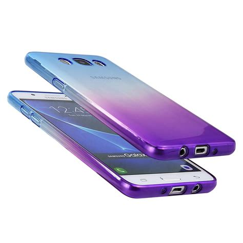 Silicon Softcase Soft Samsung J5 2016 J510 Go for samsung galaxy j5 2016 j510 j510f silicone cover gradient transparent soft clear